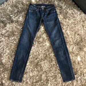 Ralph Lauren Tompkins Skinny Boyfriend Jeans White 28 NWOT